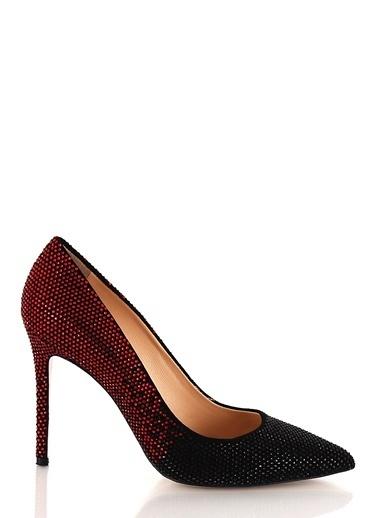 Poletto İnce Topuklu Ayakkabı Siyah